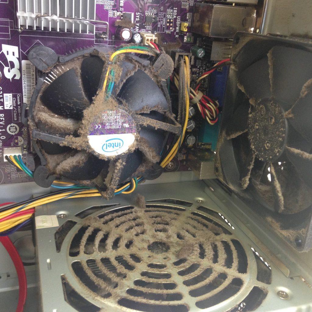 パソコンの電源が突然落ちる1
