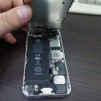 iPhone5バッテリー交換20161228 2