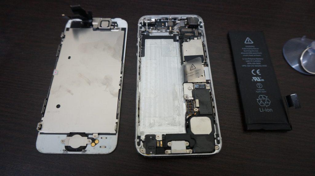 iPhone5バッテリー交換20161228 4