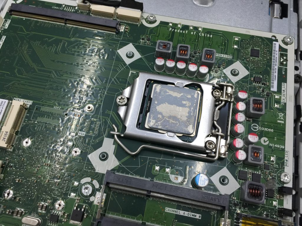 HP Omni 220SSD換装 メモリ増設2