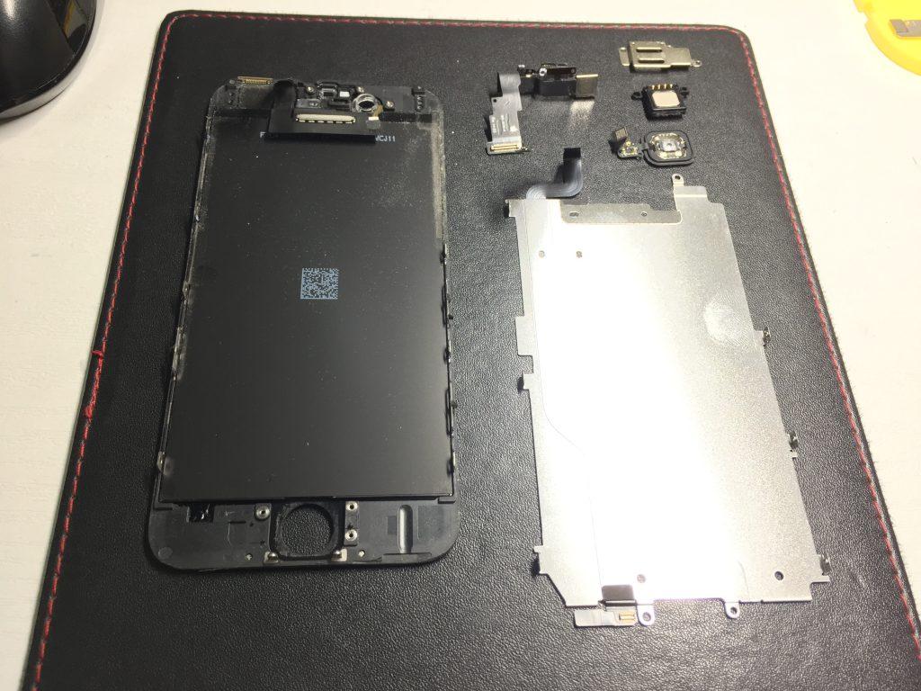 iPhone6黒液晶画面交換4