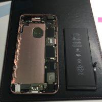 iPhone6s Plusのバッテリー交換2