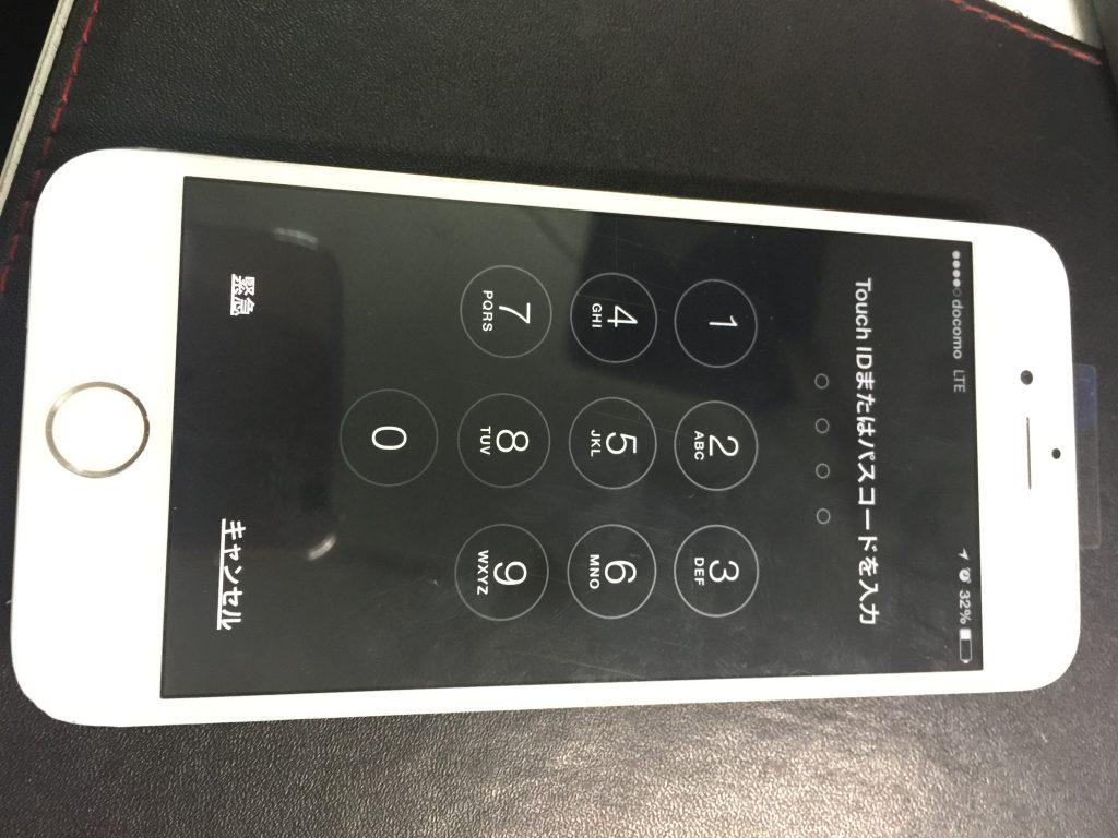 iPhone6パネル交換黒→白5