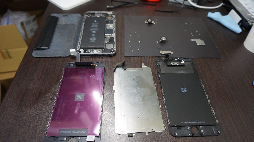 iPhone6 Plus液晶画面交換3