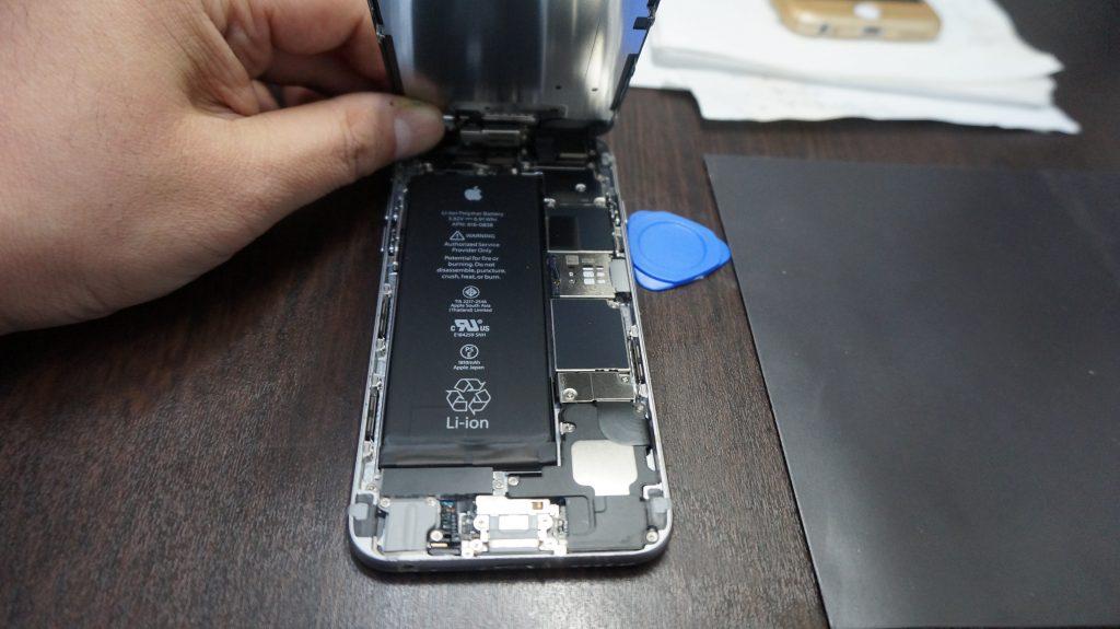 iPhone6 高品質バッテリー交換15分でできます2