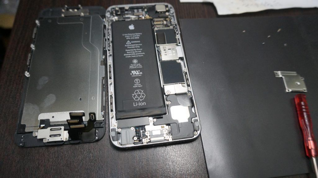 iPhone6 高品質バッテリー交換15分でできます3