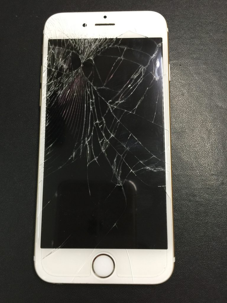 iPhone6白のパネル交換170105 2