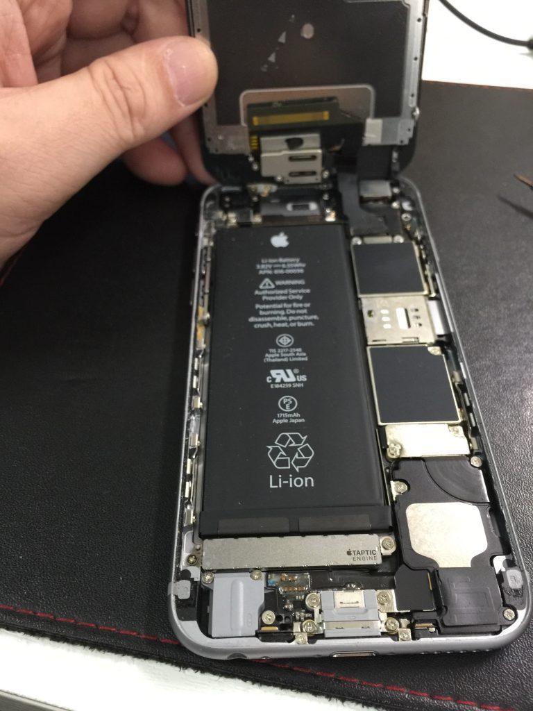 iPhone6高品質バッテリー交換2