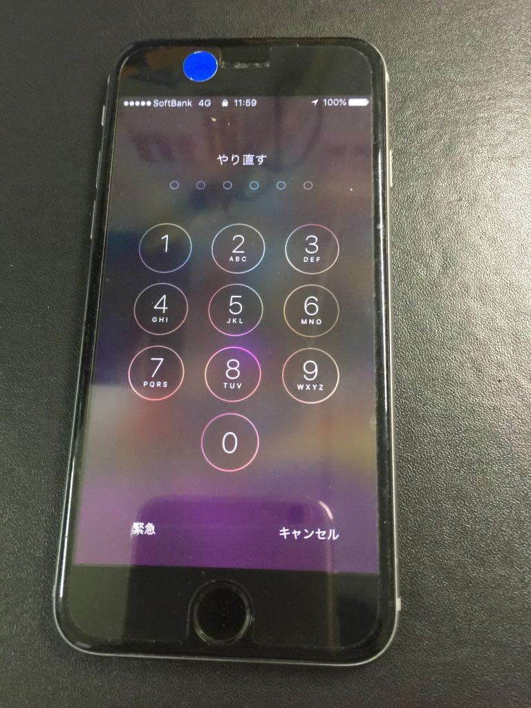 iPhone6高品質バッテリー交換4