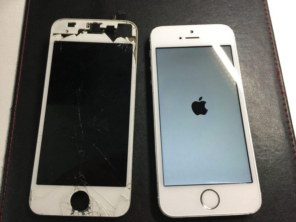 iPhone5s 液晶パネル交換激安で直します。オマケ付き!3