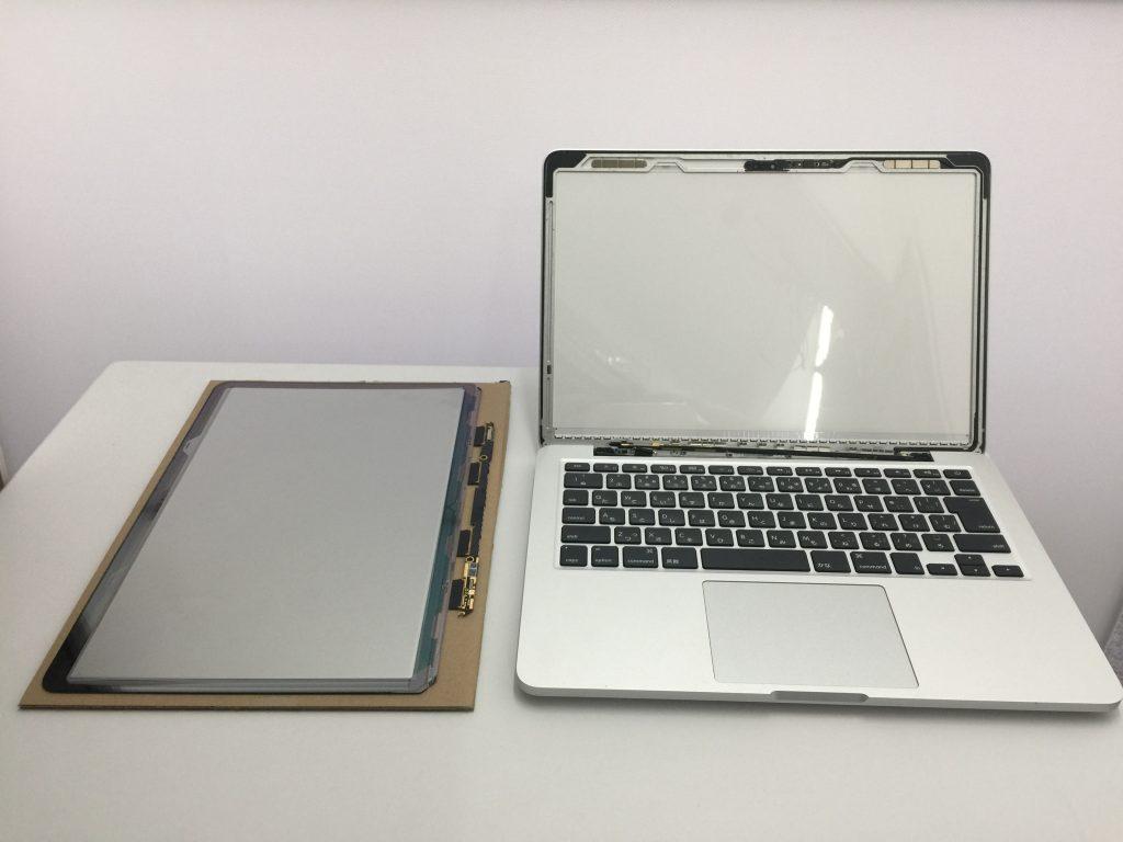 MacBook Pro A1502 2014年 Ratinaディスプレイ交換1