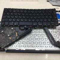 Macbook Pro A1278 キーボードが壊れた交換2