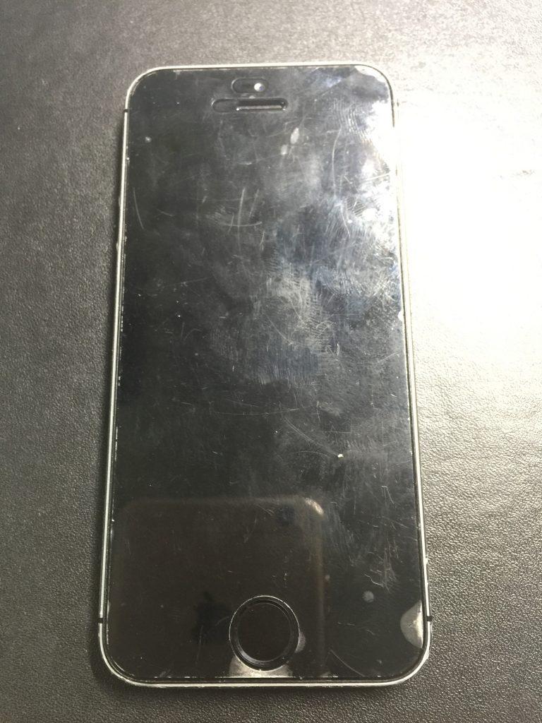 iPhone5s 充電がすぐなくなる バッテリー交換は最短15分!1