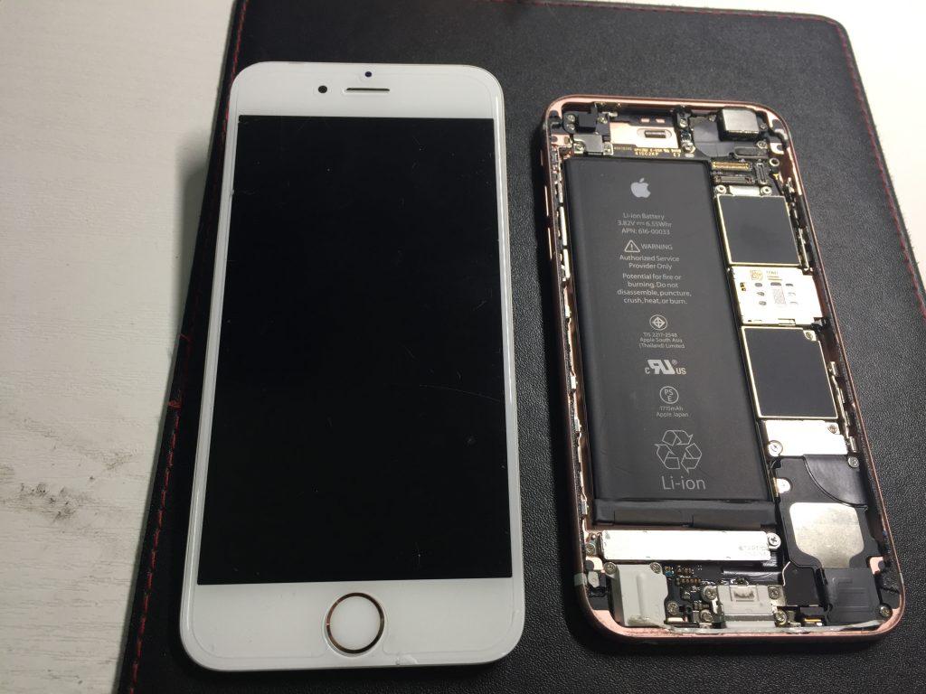 iPhone6s 液晶画面パネル交換 格安修理2