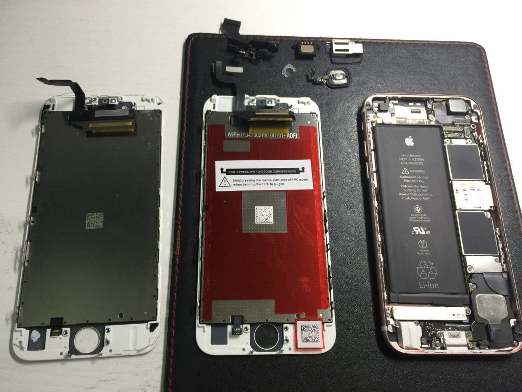 iPhone6s 液晶画面パネル交換 格安修理3