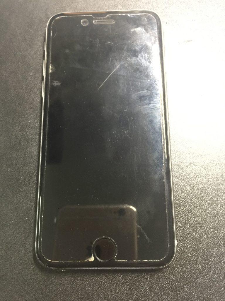 iPhone6黒 バッテリーがすぐなくなる時は交換しましょう!1