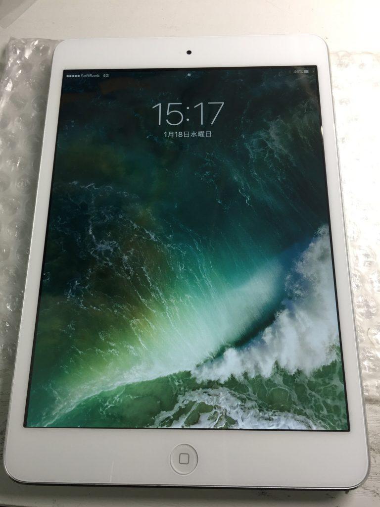 iPad mini2 デジタイザ、液晶画面交換です9