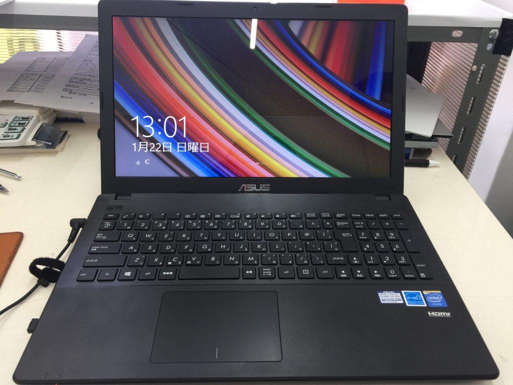 ASUS X551M液晶画面割れ パネル交換安いです!4