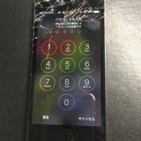 iPhoneSE 液晶画面割れ 高品質新品パネル交換 1