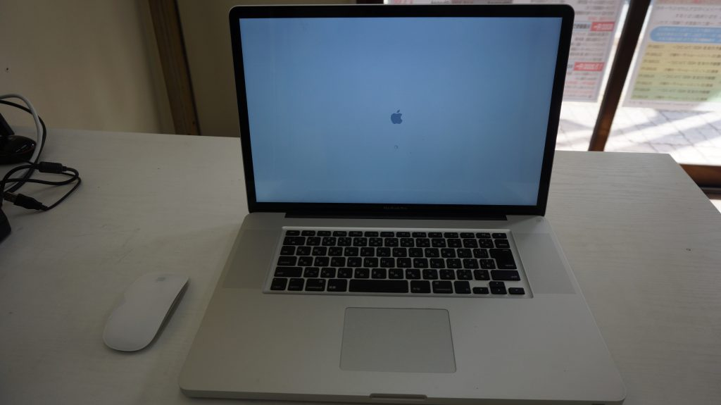 Macbook Pro A1297(17-inch, Late 2011) 起動がおそい1