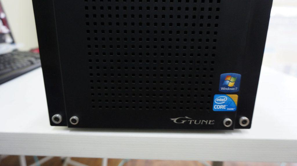 Mouse Computer G-TUNE 起動できない 電源交換2