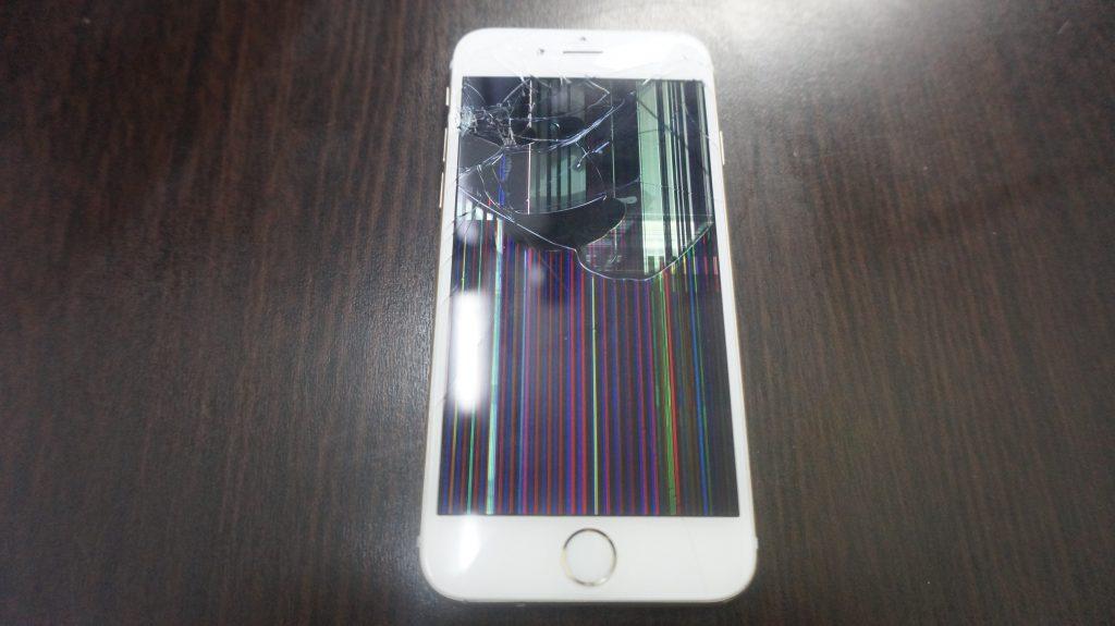 iPhone6 液晶パネル交換「iPhoneは使用できません」1