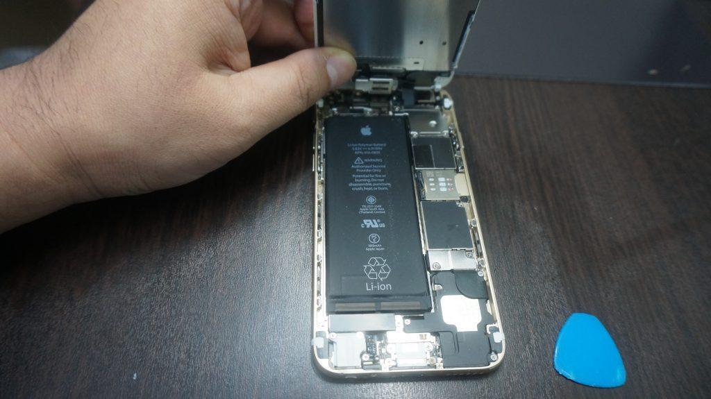 iPhone6 液晶パネル交換「iPhoneは使用できません」2