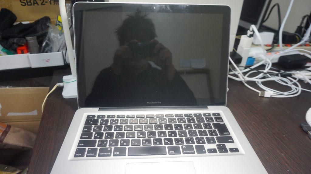 Macbook Pro A1278(Late 2008)ビープ音がして起動しない メモリ交換等1