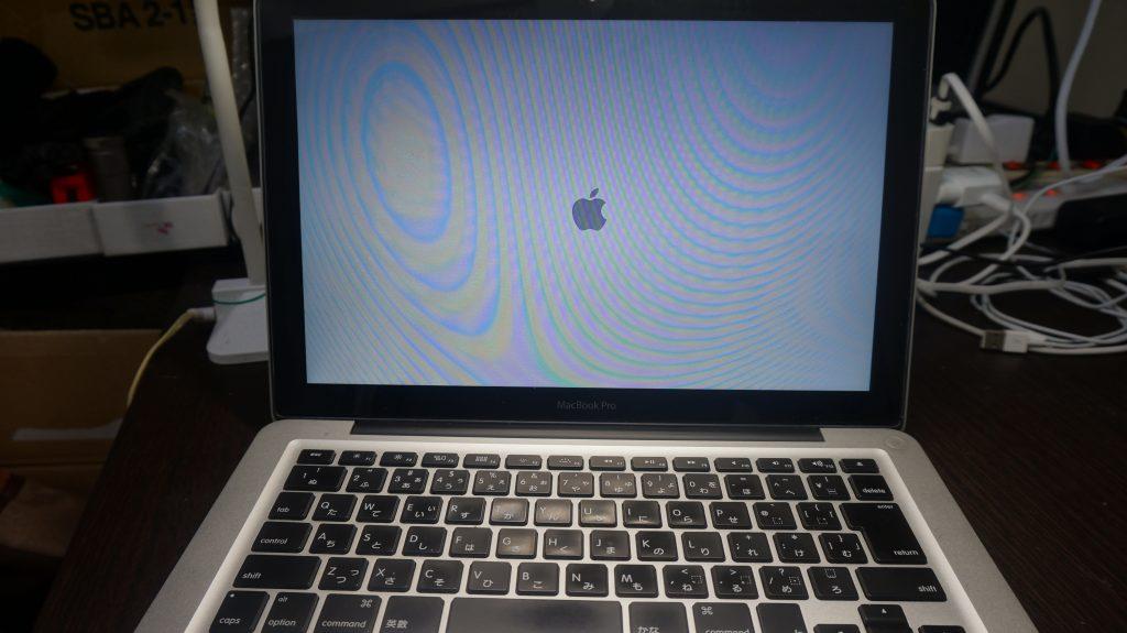 Macbook Pro A1278(Late 2008)ビープ音がして起動しない メモリ交換等2