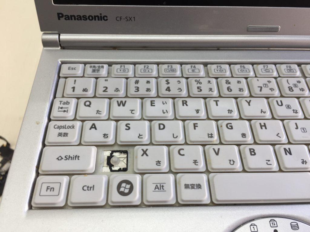 Panasonic Let's Note CF-SX1 キーボード壊れ 交換2