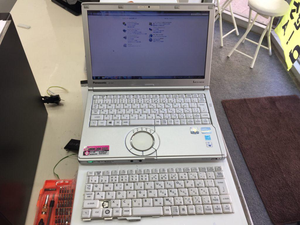Panasonic Let's Note CF-SX1 キーボード壊れ 交換3
