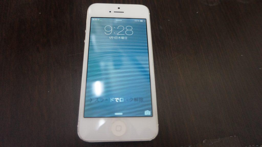 iPhone5 液晶画面がバリバリ他 色々おかしい→パネル交換5