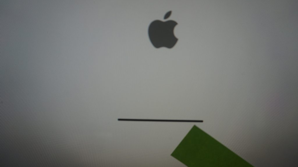 iMac A1312 Late 2009 画面が真っ白で起動しない HDD交換 OS再インストール4
