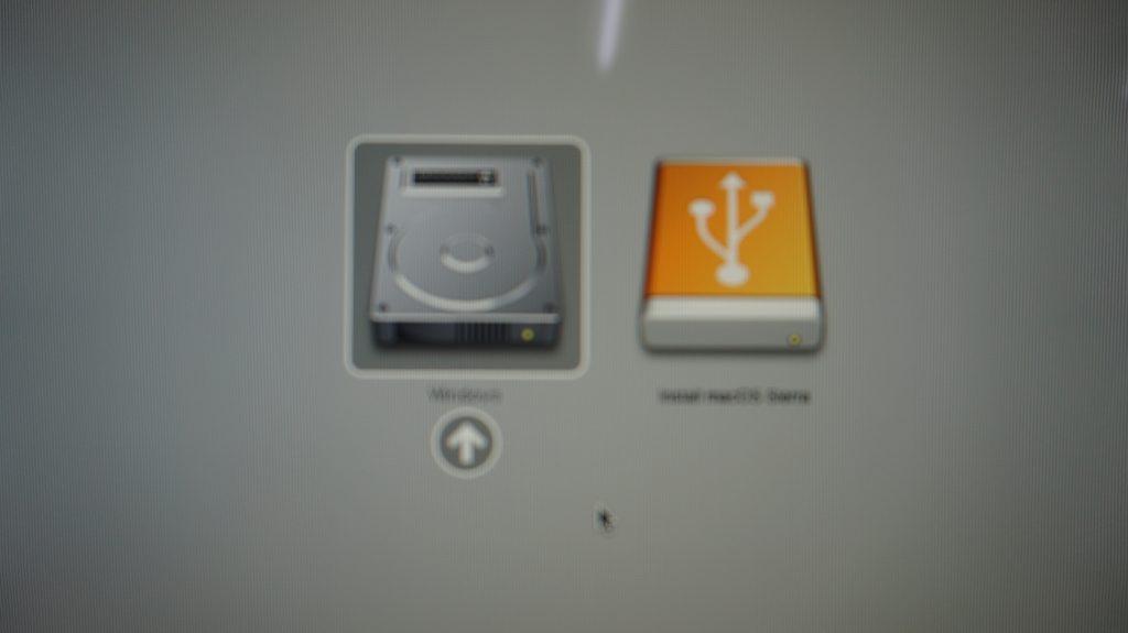 iMac A1312 Late 2009 画面が真っ白で起動しない HDD交換 OS再インストール9