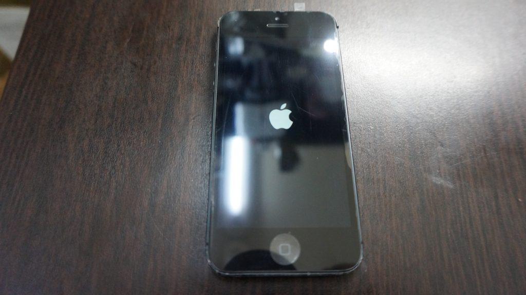 iPhone5 液晶画面パネルとバッテリーを同時交換しました5