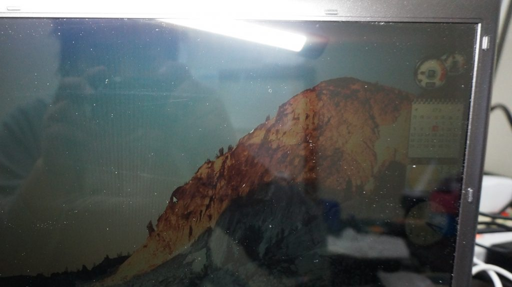 TOSHIBA Dynabook TX/66J 画面が暗い インバーター交換2