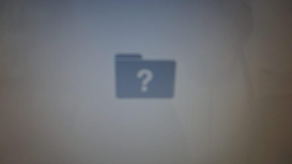 iMac A1224(2009) 自分で換装したSSDが起動しない(ビープ音等)3