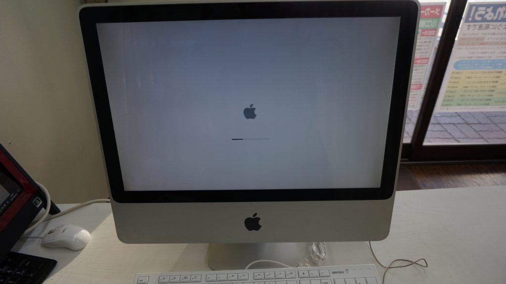 iMac A1224(2009) 自分で換装したSSDが起動しない(ビープ音等)4