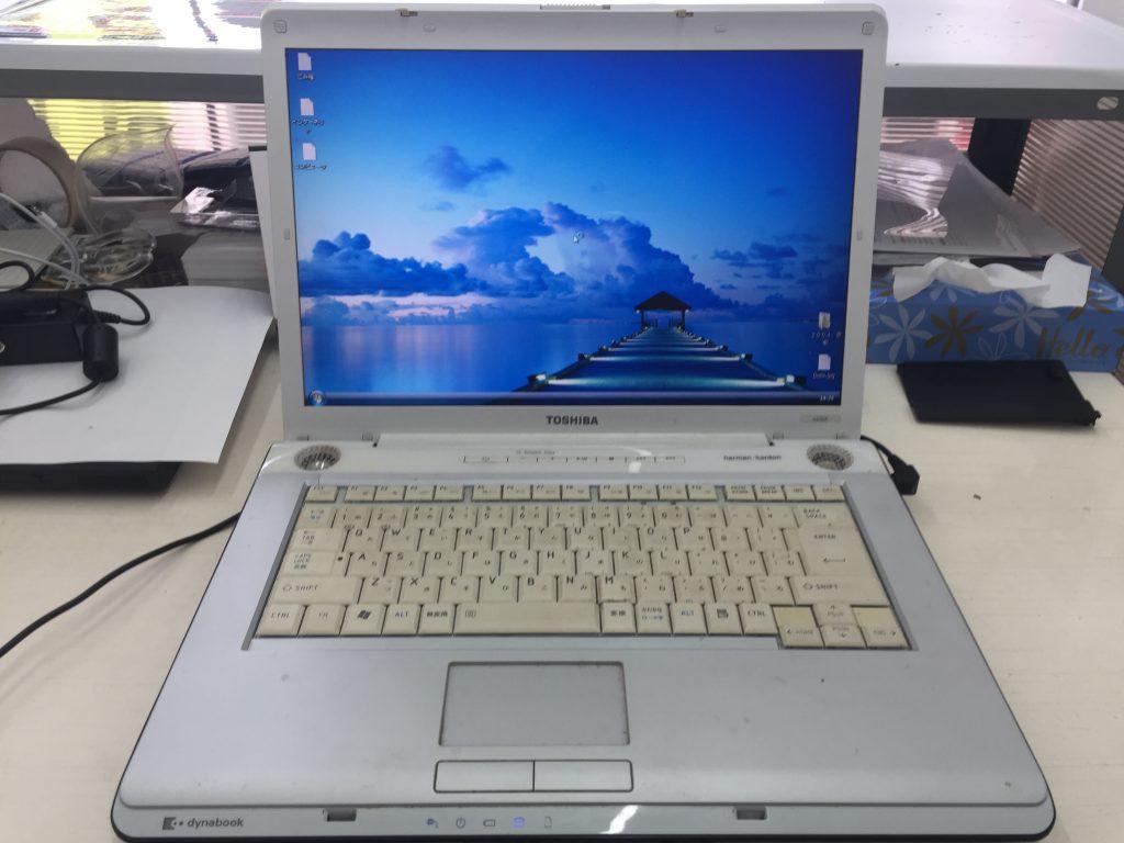 TOSHIBA Dynabook AX(TX)55E ACアダプタをつなぐと電源が落ちる プロードライザ交換9
