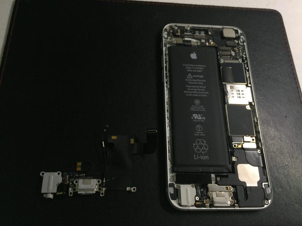 iPhone6 充電できないライトニングユニット交換 ドック異常4