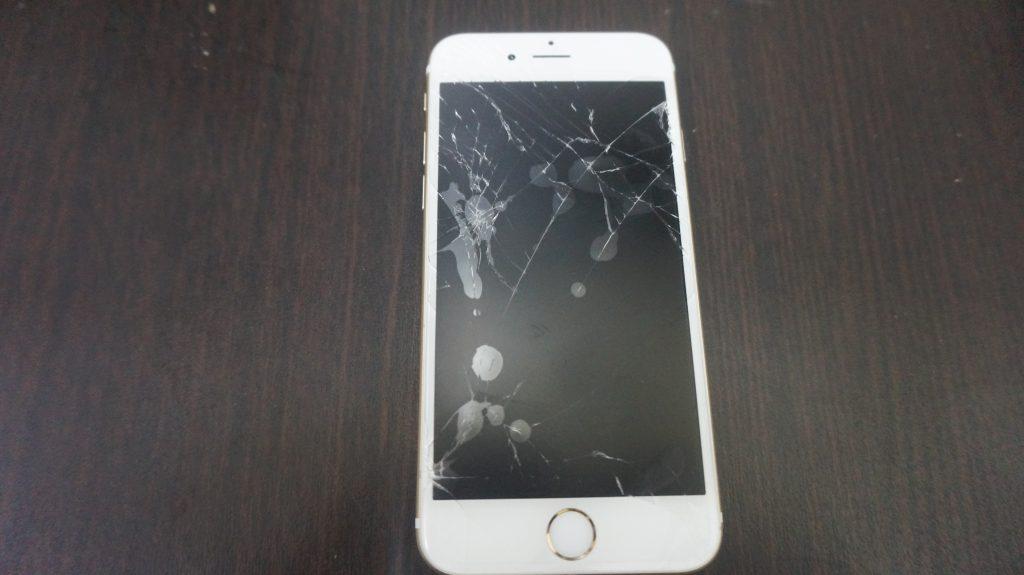 液晶割れ iPhone6s 2
