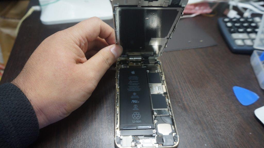 液晶割れ iPhone6s 3