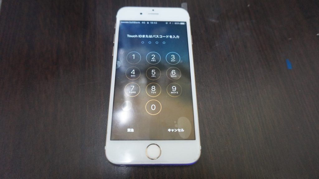 液晶割れ iPhone6s 5