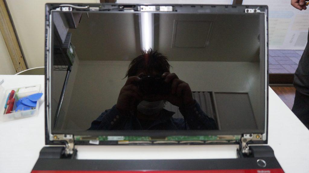 液晶交換 東芝 T75/URS2 3