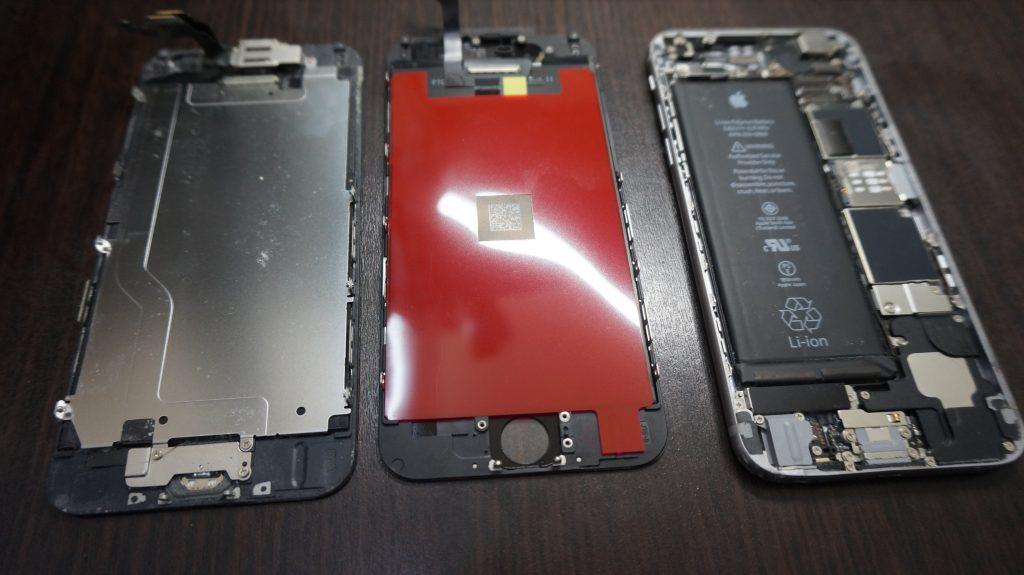 iPhone6 液晶パネル交換3