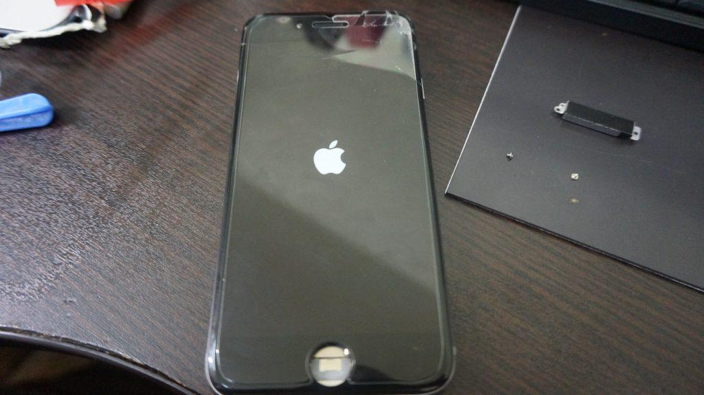 水没、バッテリー交換 iPhone6 4
