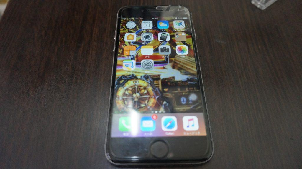 水没、バッテリー交換 iPhone6 6