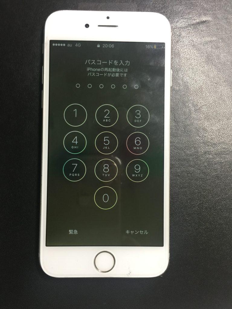 水没iPhone6 液晶交換4