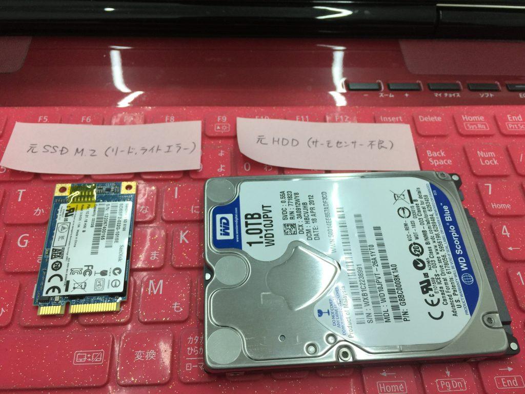 RAID故障 NEC LL750H 2
