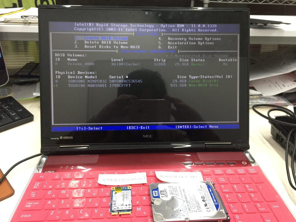 RAID故障 NEC LL750H 3